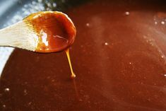 Caramel sauce, took me 3 times to get it right
