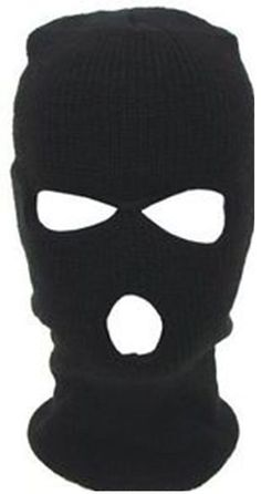 Black Balaclava3Holes Helmet Masks Winter ski Hat Neck Warmer SAS Style Army New in Clothes, Shoes & Accessories, Men's Accessories, Hats | eBay