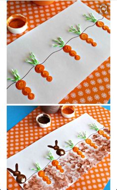 Cute Easter Bunny and Carrot Craft for kids. CLICK IMAGE FOR MORE Cute Easter Bunny and Carrot Craft for kids. Cute Easter Bunny and Carrot Craft for kids. The post Cute Easter Bunny and Carrot Craft for kids. Daycare Crafts, Bunny Crafts, Classroom Crafts, Easter Crafts For Kids, Craft Kids, Kids Diy, Fall Crafts For Toddlers, Easter Crafts For Preschoolers, Crafts For Babies