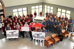 Congrats to our Auto, CPF, and HPEM programs for raising $5700 this year for Operation Black Hills Cabin!