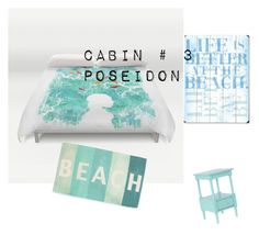 """Poseidon Cabin #3"" by daughterof-neptune on Polyvore featuring interior, interiors, interior design, home, home decor, interior decorating, Thro and ArteHouse"