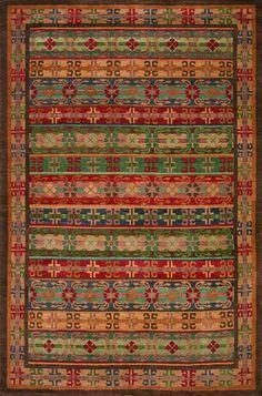 Gangchen Tibetan Handmade Wool Rug
