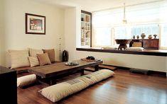Modern Hanok, Korean traditional house, living area