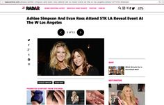 Rachel Hunter + Mary Fanaro  http://radaronline.com/photos/ashlee-simpson-and-evan-ross-attend-stk-la-reveal-event-at-the-w-los-angeles/photo/1071047/#netseer
