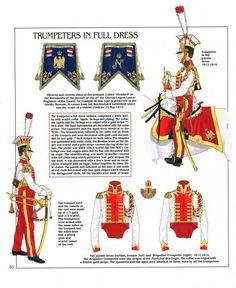 Trombe del 2 rgt. Cavalleggeri olandesi della guardia imperiale, 1804-1815
