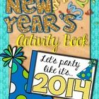 This fun little activity book is a great way to say goodbye to 2013 and usher in 2014 with your students! The pages are printed 2 to a sheet, so yo...