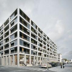 Concours pour un programme de logements au Havre (2016) - L'Autre Image
