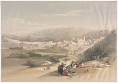 Hebron | Cleveland Museum of Art, David Roberts