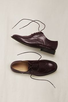 Women's wingtip shoes from Canvas: Land's End. $89