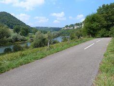 Les bords du Doubs... à pied ou à vélo.