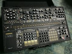 MATRIXSYNTH: Make Noise Black & Gold Shared System Modular Synt...