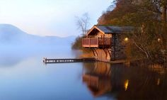 The perfect boat house for those into the Classic Boating Lifestyle?