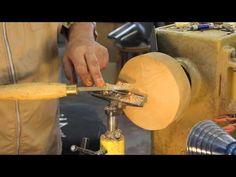 Negative Rake scraper: woodturning - YouTube