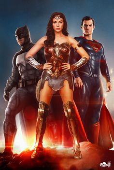 regram A Trindade que você respeita! Dc Comics Art, Dc Comics Characters, Marvel Dc Comics, Marvel Vs, Wonder Woman Art, Gal Gadot Wonder Woman, Wonder Women, Wonder Woman Comic, Film Logo