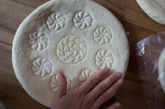making Uzbek non bread