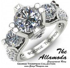 The Allamoda Ring from George Thompson Diamond.