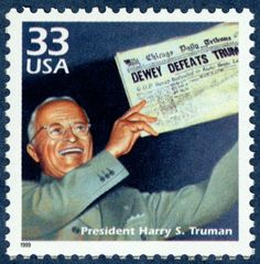 June 24, 1948: Republican National Convention nominated Thomas Dewey as their candidate for President. Truman won despite the embarrassing headlines that appeared in the Chicago Tribune.
