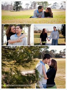 Outdoor Engagement Photos texas love, jersey style | kristen+andres