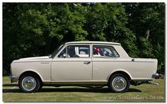 x_Vauxhall Viva HA side - Vauxhall HA Viva.  Launched in Britain in 1963, the Viva HA borrowed heavily from the Opel Kadett A by Hans Mersheimer which had been launched in Germany the year before.
