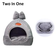 2 IN 1 Pet Dog Kennel Warm Puppy House For Small Dogs Cat Sleeping Sofa Soft Home Kitten Bed Nest Washable Dogs Mat Cushion  Price: 23.38 & FREE Shipping  #pets|#petcare|#petaccessories|#cutepets
