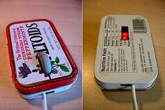 Feature: Creative Uses for Leftover Altoids Tins - TechEBlog