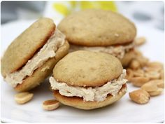 Peanut Butter Banana Whoopie Pies