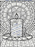 ELEMENTARY SCHOOL ENRICHMENT ACTIVITIES: JESUS IS THE LIGHT COLORING PAGE