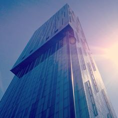 Deansgate Hilton Hotel, Manchester Manchester, Skyscraper, Multi Story Building
