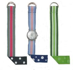 Instructions for Reversible Watch Band. Fun birthday party craft for little ones to wear home.