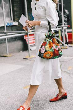 london fashion week street style September 2016 Day 3
