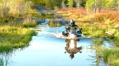 ADVrider     Every heard of hydro lock? Bikes get real heavy when you try to pull them off the bottom of a deep creek.