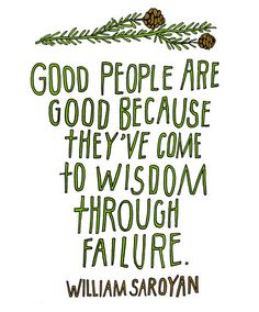 Failures need to be the least of our worries.