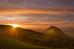 Breathtaking Britain: photographs of Peak District landscapes by Ben Hall. This is Chrome Hill at dawn