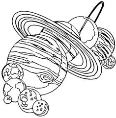 Printable Solar System Coloring Pages Lots Of Them