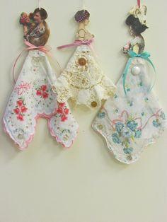 Victorian Hanky Paper Dolls