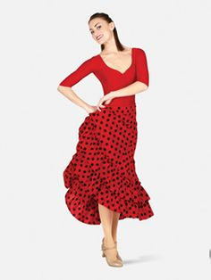 Bal Togs Adult Polka Dot Flamenco Skirt
