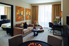 Extra living space and a range of stylish extras come as a standard for guests staying in the hotel's suites.