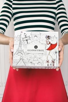 The GLOSSYBOX French themed October Box!