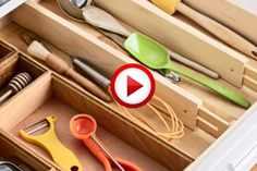 Ways To Efficiently Organize Your Kitchen Video #cooking, #kitchen, #food, #pinsland, #howto, https://apps.facebook.com/yangutu