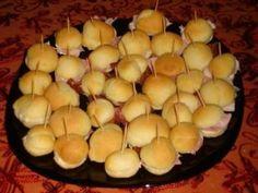 panini mignon per aperitivo o buffet ricetta bimby