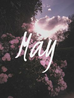 """Hello May! """"May, she will stay, resting in my arms again."""" Simon and Garfunkel Seasons Months, Days And Months, May Days, Seasons Of The Year, Months In A Year, Four Seasons, 12 Months, Hello May, New Month"""