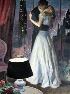 "Preston Blair illustration, ""Man And Woman Kissing"" Romance Novel Covers, Romance Art, Vintage Romance, Vintage Love, Vintage Art, Romance Novels, Preston Blair, Pin Up, Romantic Paintings"