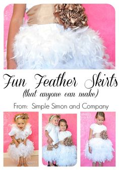 Project Run and Play- Feather Tutu Tutorial - Simple Simon and Company