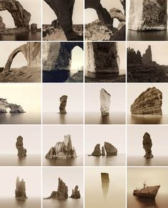 Haunting landscape photography captured with custom-built panoramic cameras and processing equipment by David Parker.