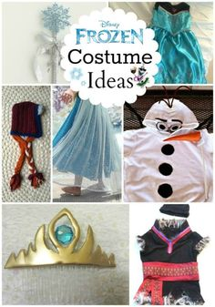 Are you looking for a Frozen Costume Idea? Here are some super easy and practical ideas on how to make your own Frozen Costumes!