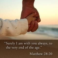 Matthew favorite bible verse and my confirmation verse! Christian Life, Christian Quotes, Bible Scriptures, Bible Quotes, Qoutes, Joy Quotes, End Of The Age, Matthew 28, Saint Matthew