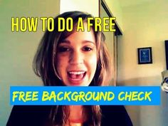 How To Do A Background Check Online