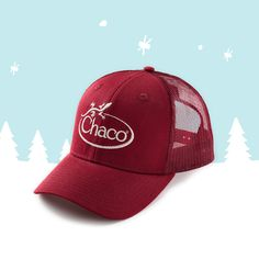 fcf7773132694 Chaco Trucker Hats.  24 exclusively at Chacos.com Trucker Hats