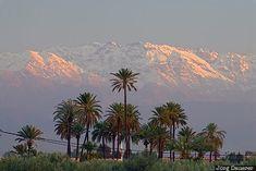 High Atlas Mountains, Marrakech-Tensift-Al Haouz, Menara, Morocco ...