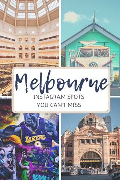 If you're visiting Melbourne in Australia for the first time, here are 5 popular spots for Instagram photography that you'll love. I describe the location, give you ideas for different types of shots and poses, and let you click away! Click here for inspiration on your trip to Australia.   #melbourne #melbourneinstagram #australiatravel #instagramphotos #victoriaaustralia #australiatravelguide